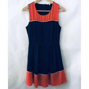 41Hawthorn Zillah Dress Small Navy Blue Red